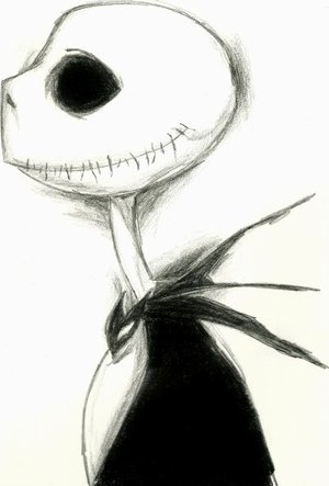 Jack Skellington by crayon2papier